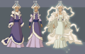 Princesse Yué avatar le dernier maître de l'air