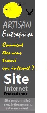 création site artisans et entreprises