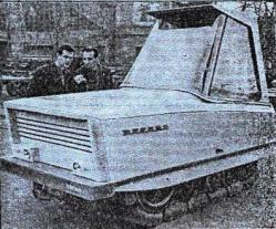 Evrika prototype tractor 