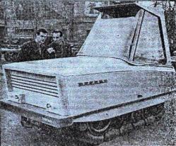 Evrika prototype tractor