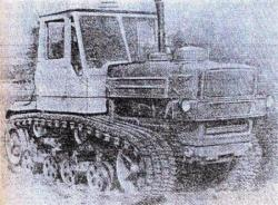 T-150 Kharkov tractor 