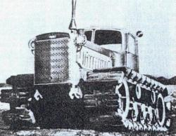 DT-75 Kirovets tractor