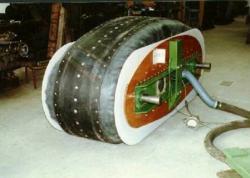 air-cushion track of W. R. Bertelsen