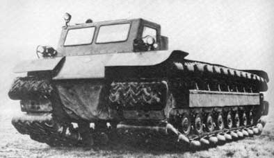 Amphibious vehicle of japan