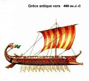 bateau grec antique