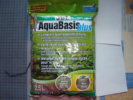 Guide d 39 instalation d 39 un nano aquarium 25 litres d 39 eau douce for Terreau aquarium