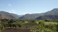 Valle cerca de Cajamarca