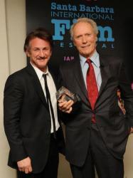 Avec Clint Eastwood