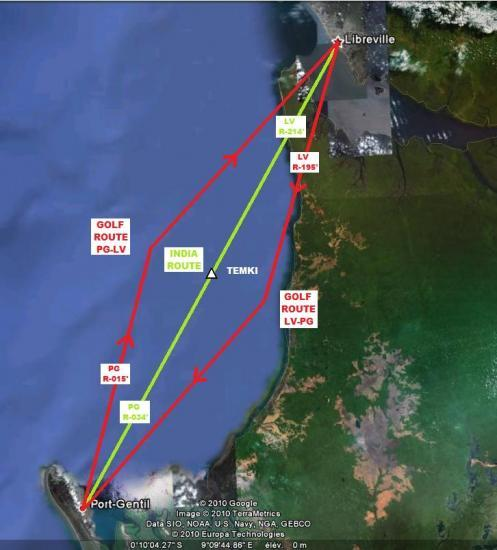 LBV-POG Offset Route System