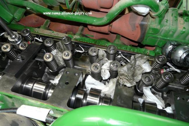 moteur ensileuse John-Deere