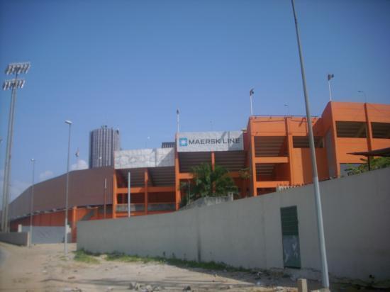 Le stade Félix Houphouet Boigny où évoluent les Elephants