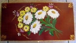 Boîte à thé - fleurs de montagne