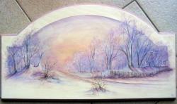 paysage d'hiver...