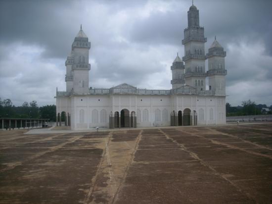 La mosquée de Yamoussoukro