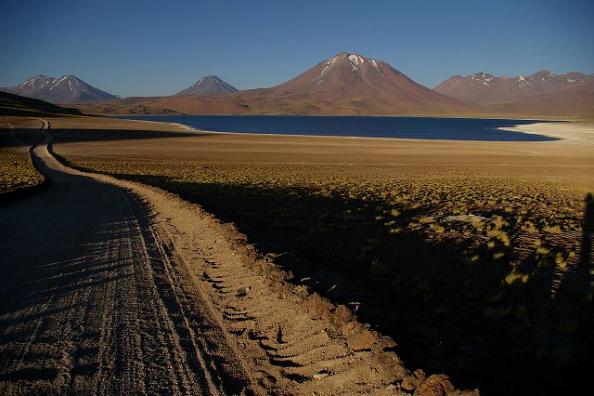 Lac Miscanti (4 350 m) - Réserve nationale Los Flamencos