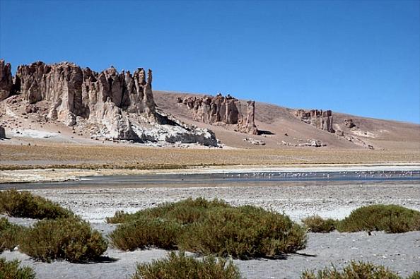 Salar de Tara (4 400 m) - Réserve nationale Los Flamencos