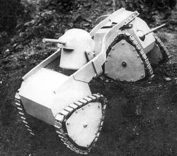 Varlet tank  of Delahaye
