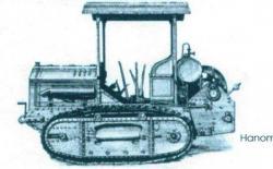 Hanomag Z 25 tractor