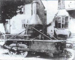 Precursor Minnis tractor