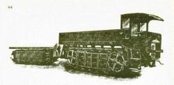 Diplock Pedrial Tractor and Trailer