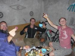 Cena en la casa de los ciclistas - Trujillo