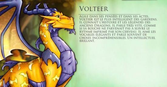 Les personnages important(e)s Volter