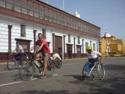 Istok y Lazaro durante la carrera - Trujillo