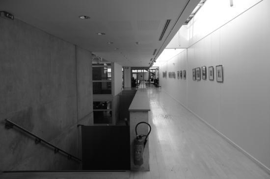 La Galerie haute. Seconde partie de l'exposition. Cliché CSTC.