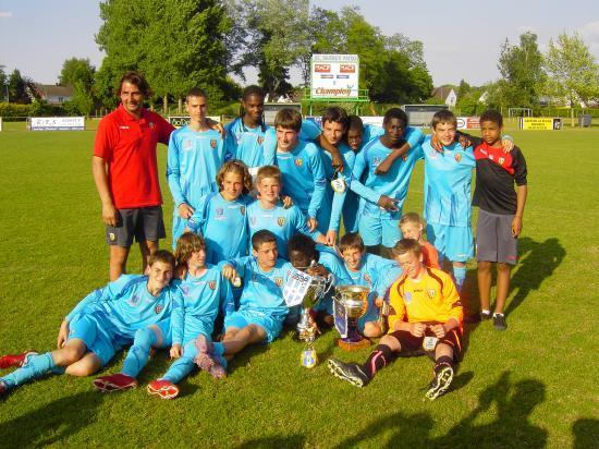 Vainqueur tournoi de Baisieux avec le RC Lens