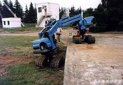 Tri-Trac-Mover for slopes