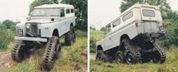 Cuthbertson land Rover