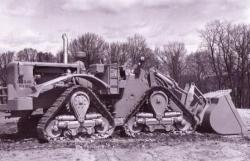 Caterpillar 988 with crawlers