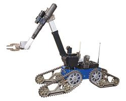 Telemax rescue robot of Reinmetall 
