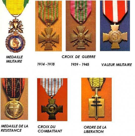 La croix de guerre 1914-1918 est une décoration militaire attribuée