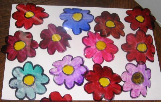 fleurs-colorés